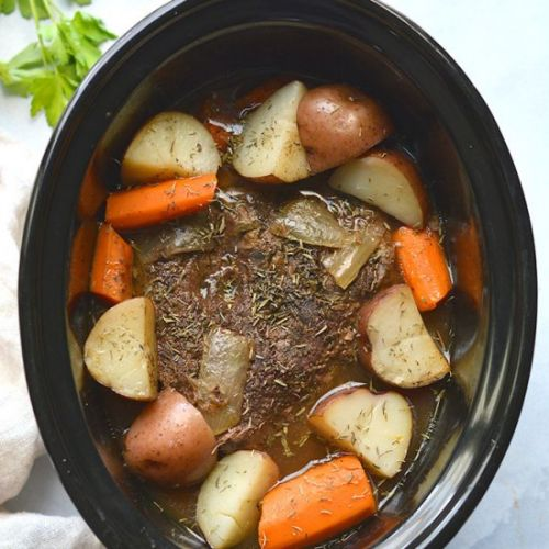 Healthy Crockpot Pot Roast