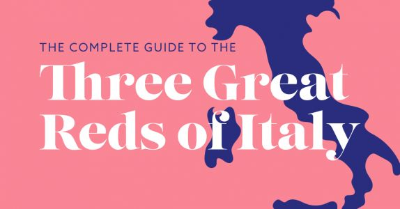 The Complete Guide to the Three Great Reds of Italy: INFOGRAPHIC