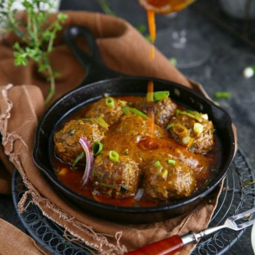 Indian Spiced Meatballs in Curry Sa