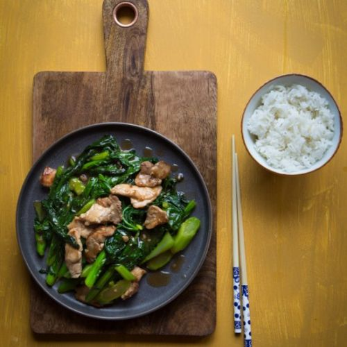 Stir-fried Gai Lan