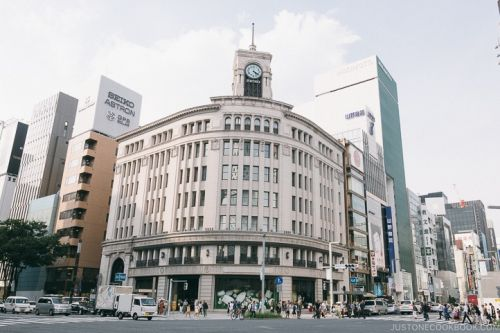 Tokyo Ginza Travel Guide