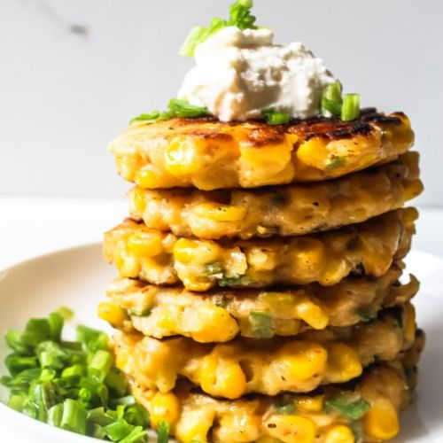 Cheese Corn Fritters