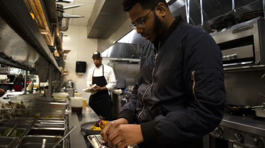 Chef's Memoir Tackles What It's Like To Be Young, Gifted And Black In Fine Dining