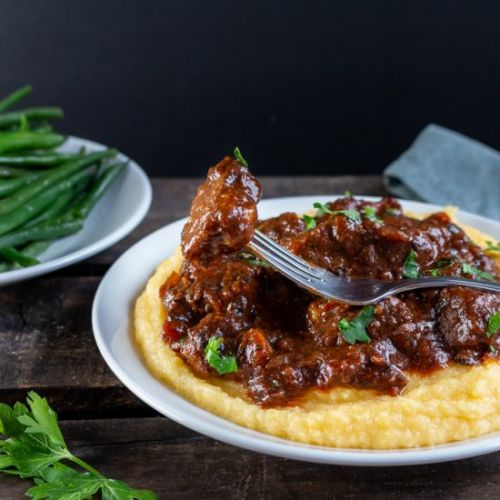 Tuscan Slow Cooked Braised Beef