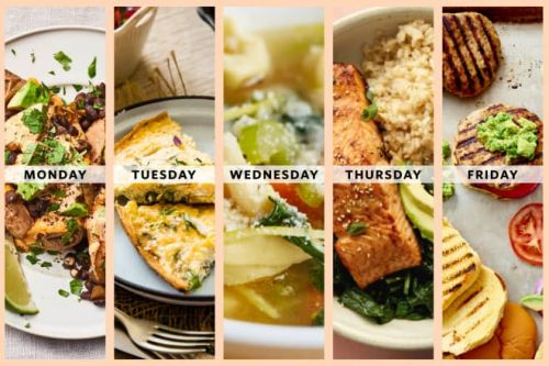 Next Week's Meal Plan: A Week of Healthy, Low-Effort Dinners for Expecting Parents