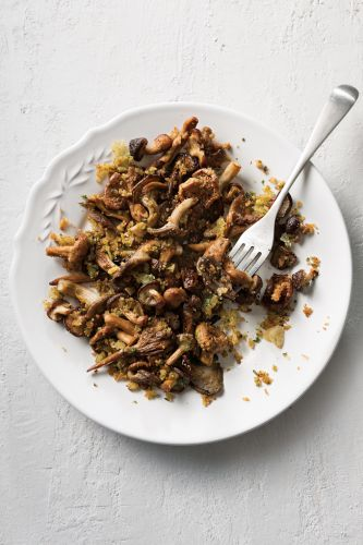 Oven-Roasted Wild Mushrooms with Garlic and Parsley