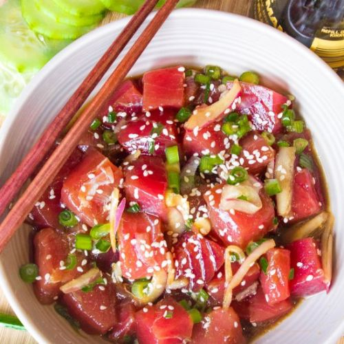 The Best Ever Tuna Poke