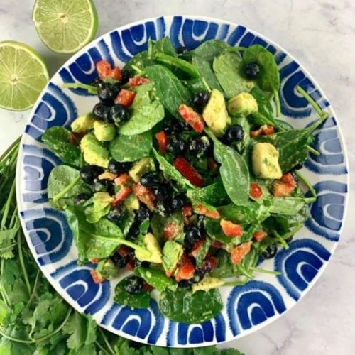 SPINACH & BLUEBERRY SALAD