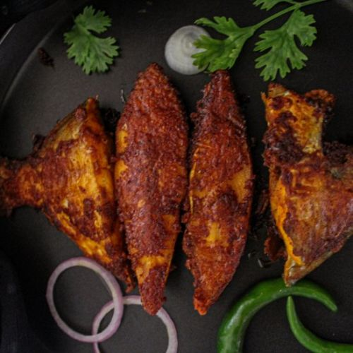 Red Masala Pomfret