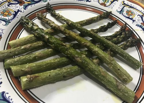 Simple Baked Asparagus