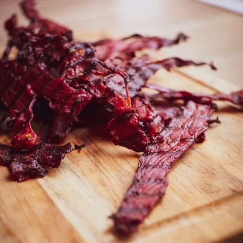 Smoked Spicy Beef Jerky