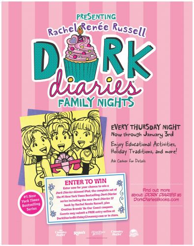 Ovation Brands and Furr's Fresh Buffet Launches Newest Family Night Featuring Dork Diaries