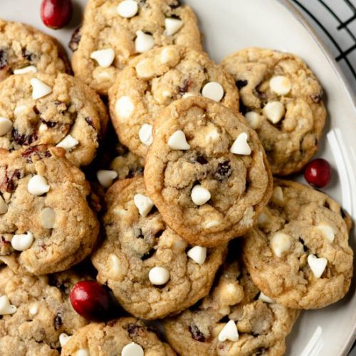Brown Butter White Chocolate Cookie