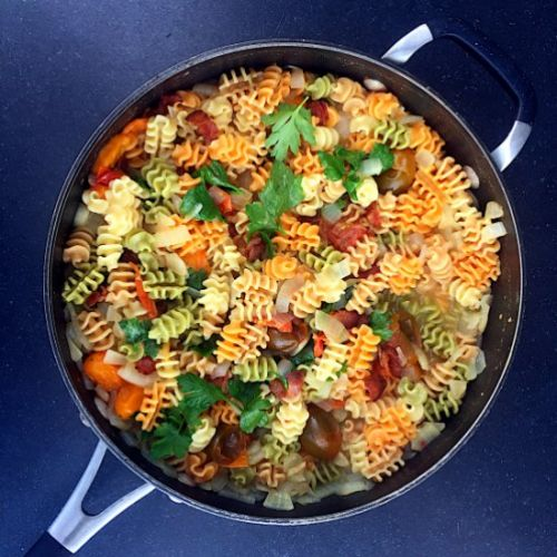 One-Pot Pasta Radiatore