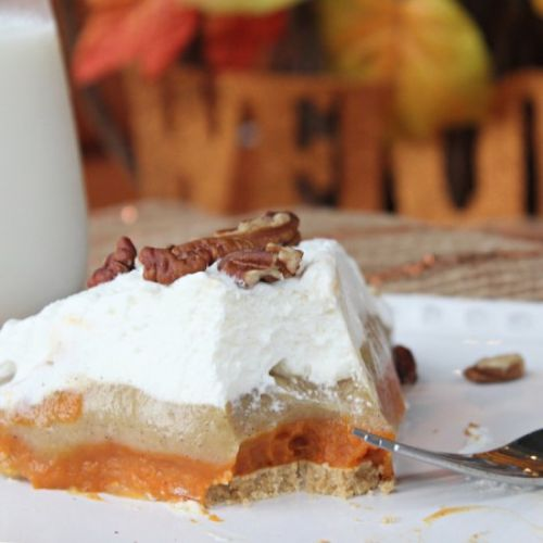 Triple Layer Pumpkin Pudding Pie