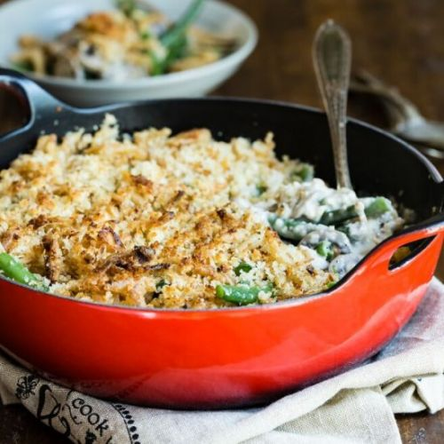 Green Bean Casserole for Two