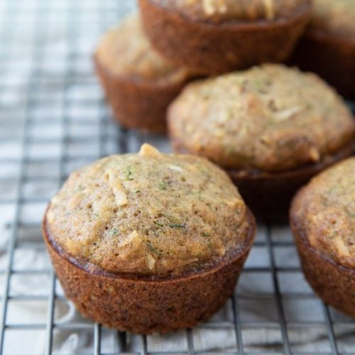 Zucchini Muffins with Coconut