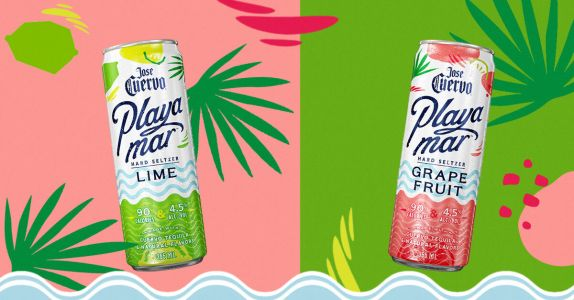 Jose Cuervo's New 'Playamar' Is a Sparkling Tequila-Based Hard Seltzer