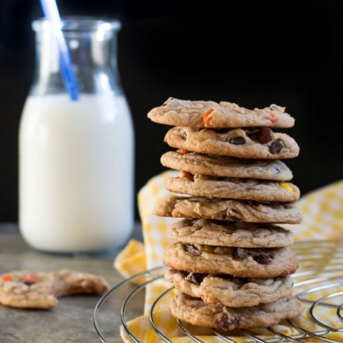Browned Butter Reese's Cookies