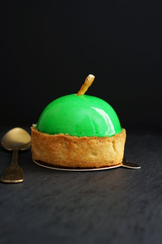 "Fancy ""Green Apple"" Apple Tart"