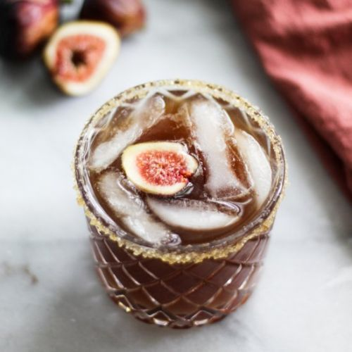 Vanilla Fig Dark and Stormy
