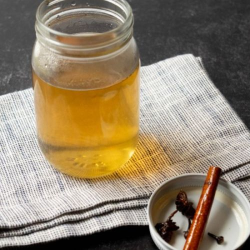 Fall Spiced Simple Syrup