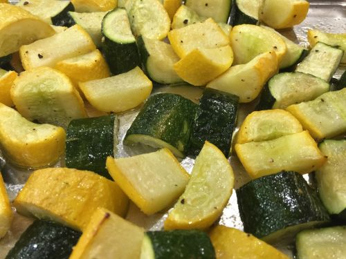 Baked Zucchini and Squash