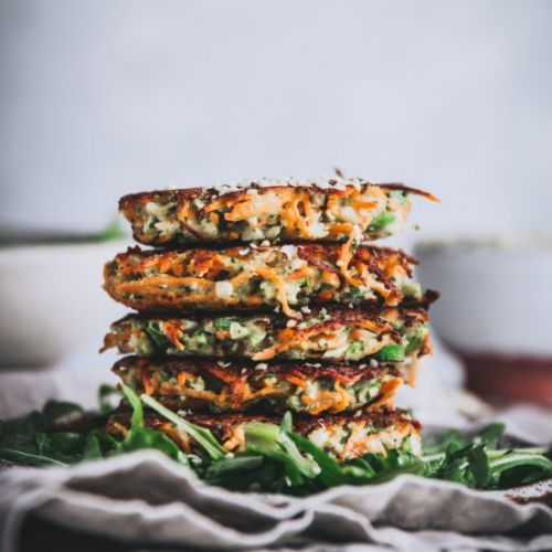 Broccoli & Sweet Potato Fritters