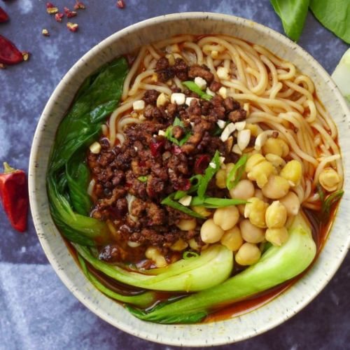 Spicy Chongqing noodles