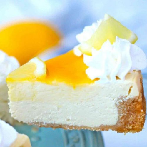 Instant Pot Meyer Lemon Cheesecake