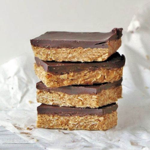 Oatmeal Peanut Butter Squares