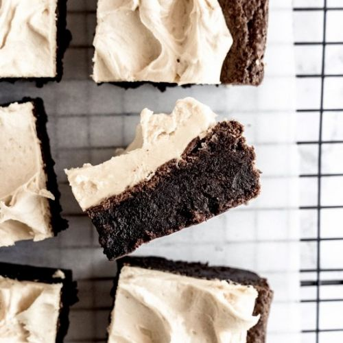 Whiskey Peanut Butter Brownies